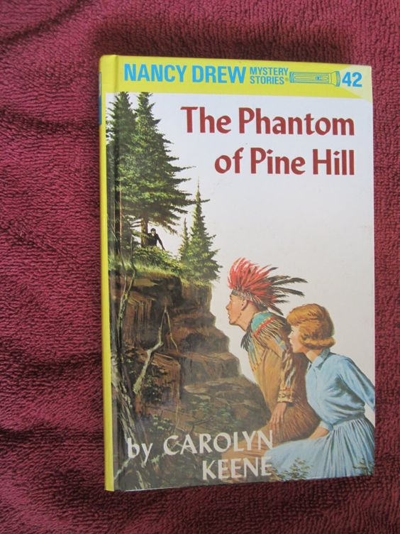 The Phantom of Pine Hill by Carolyn Keene - Nancy Drew # 42 - 1995 ~~ For Sale At Wenzel Thrifty Nickel eCRATER store
