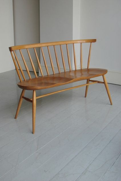 Ercol loveseat www.apartmentapothecary.com