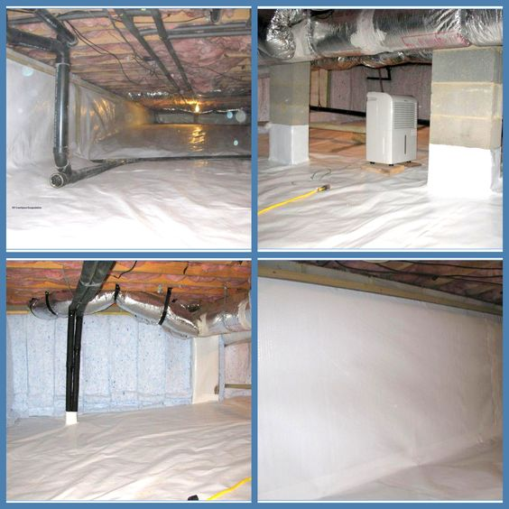 What Are The Options For Moisture Proofing Foundation From The Interior: Spaces, Crawl Spaces And DIY And Crafts