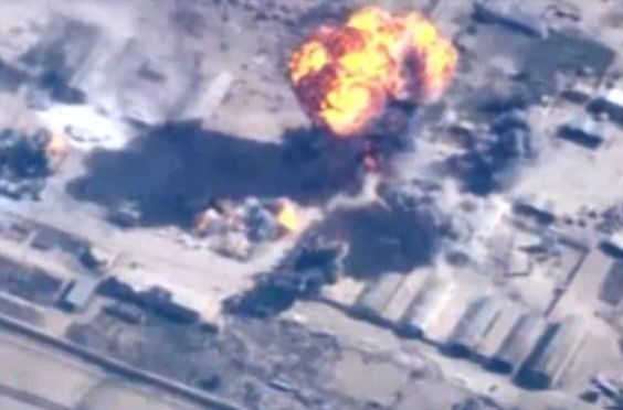 Jordan launches 56 revenge airstrikes against ISIS after pilot's murder http://dailym.ai/16AAet7