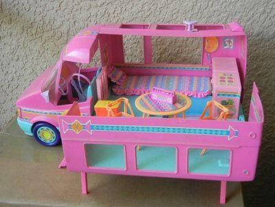 barbie camper takin it back pinterest barbie campers and barbie camper. Black Bedroom Furniture Sets. Home Design Ideas