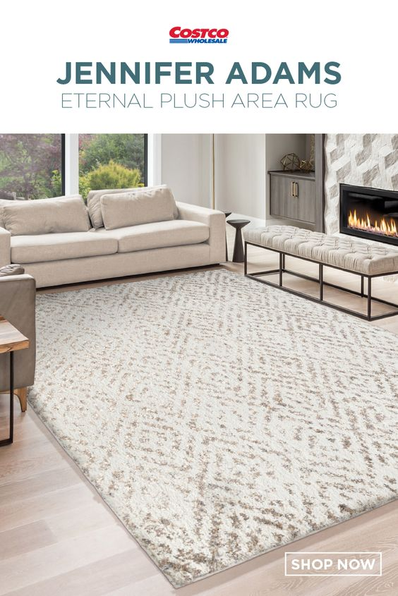 Jennifer Adams Eternal Plush Area Rug Ojai Natural Plush Area Rugs Area Rugs Shop Area Rugs
