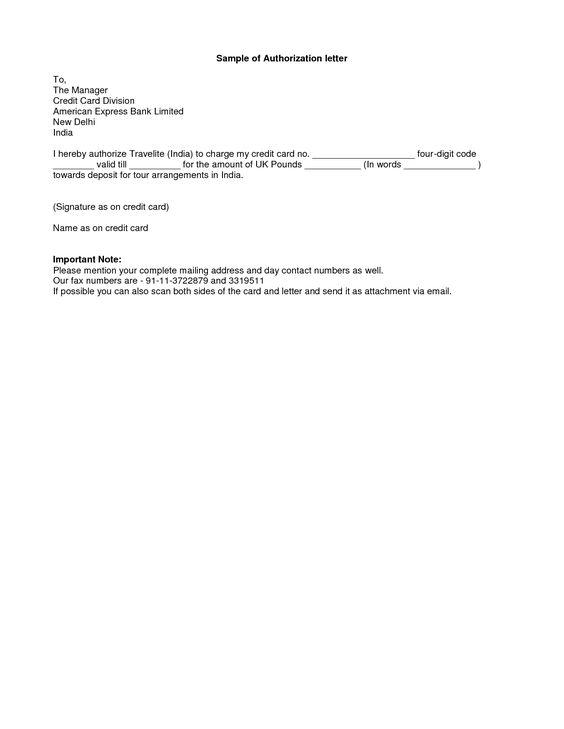 simple authorization letter format best template collection sample - authorization letters sample