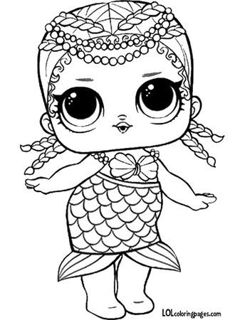 Lol Doll Coloring Pages Unicorn Coloring Pages Mermaid Coloring Pages Cartoon Coloring Pages