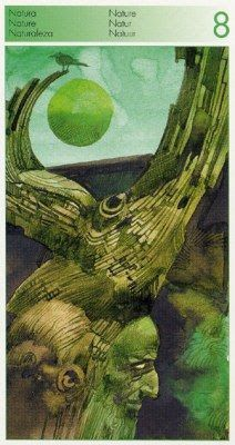 8 of Nature (=Wands) Tarot of the Origins - Marina Marina - Picasa Web Albums