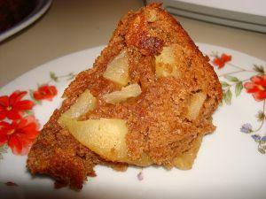 Vegan Jewish Apple Cake #vegan #RoshHashanah #recipe