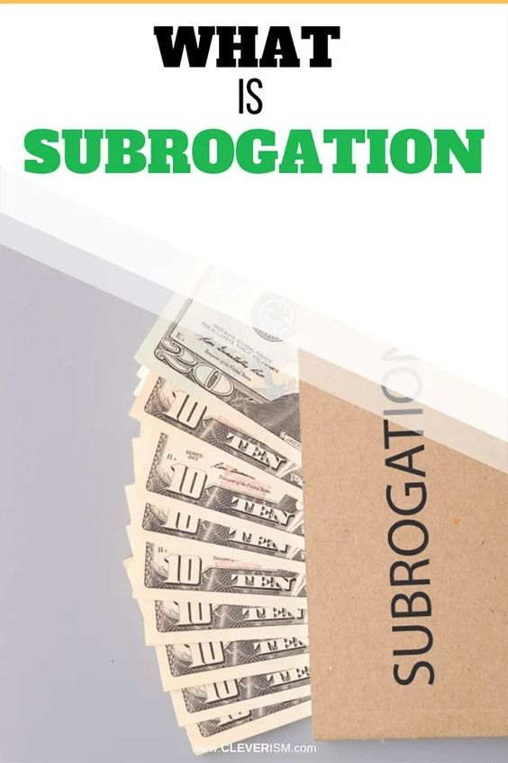 What Is Subrogation With Images Finance Advice Job Interview