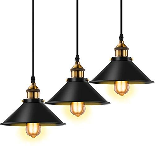 Licperron Industrial Pendant Light E26 E27 Base Vintage H Https