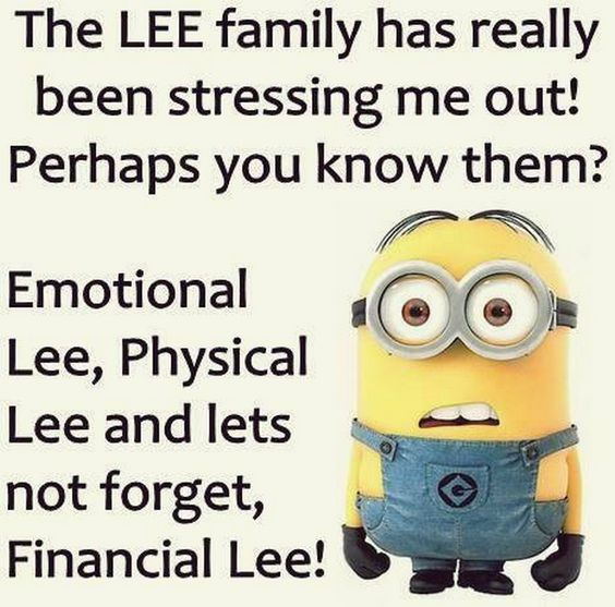 Funny Minion Quotes About Stress: Funny Chinese Menu Joke