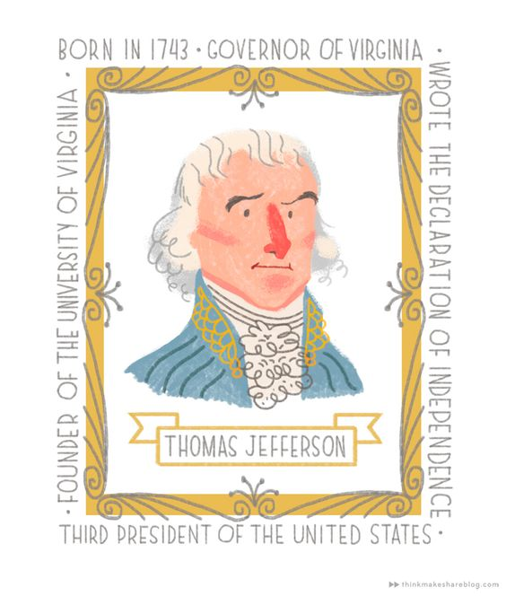 http://www.thinkmakeshareblog.com/founding-fathers-printables/