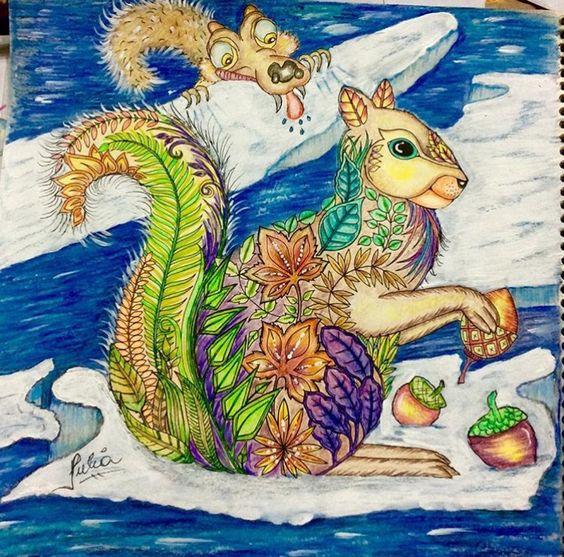 Inspirational Coloring Pages by @juliasnf #inspiração #coloringbooks #livrosdecolorir #jardimsecreto #secretgarden #florestaencantada #enchantedforest #reinoanimal #animalkingdom #adultcoloring #johannabasford #milliemarotta #tropicalwonderland #lostocean #coloringforadults