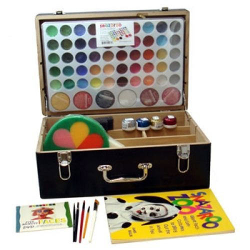 Snazaroo Professional Face Painting Kits (54 Colors): Face Paint Supplies: Lowest Priced Name Brand Face Paints