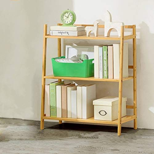 Gshwjs Desktop Bookshelf Student Mini Desk Storage Shelf Book Album Display Stand Bookcase 32x19x21cm Bookshelf Simple Bookshelf Solid Wood Bookshelf Bookcase