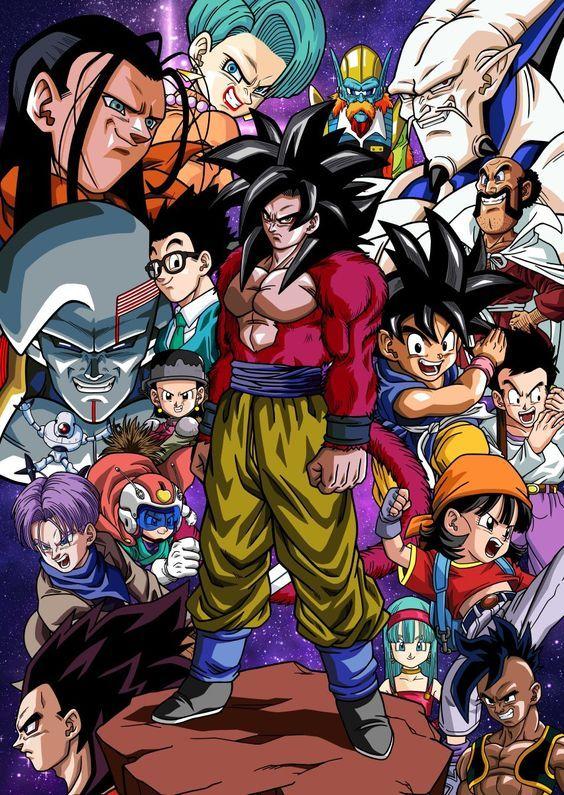Assistir Dragon Ball Gt Dublado Todos Os Episodios Online Dragon