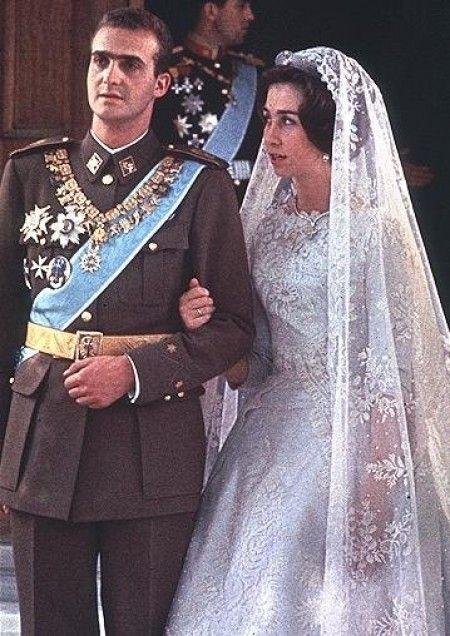 Boda real Juan Carlos y Sofía de Grecia | NOVIAS FAMOSAS ...
