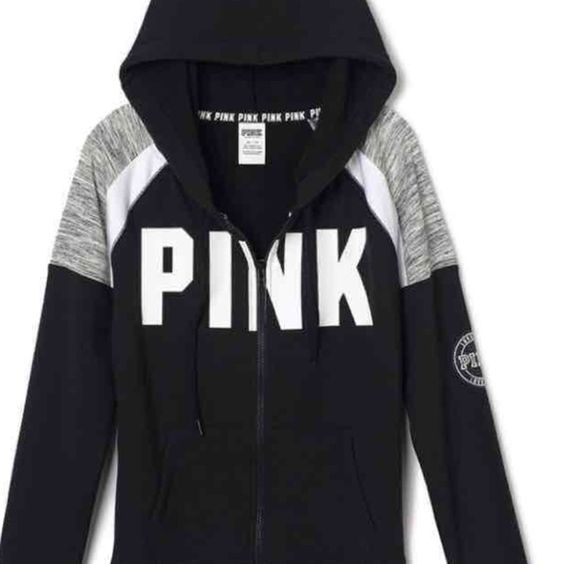 Pink Hoodie Small PINK Victoria's Secret Jackets & Coats