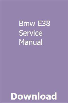 Bmw e38 service manual | repair manuals, volvo s60, manual.