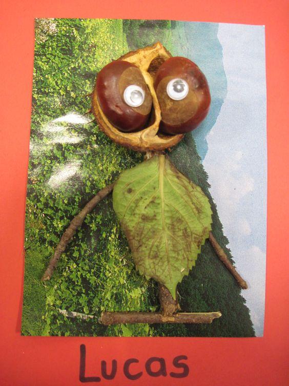 Monstres de la forêt/ Land art