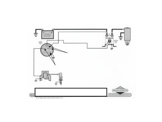 Ignition Wiring Basic Wiring Diagram Briggs Stratton Briggs Stratton Stratton Diagram