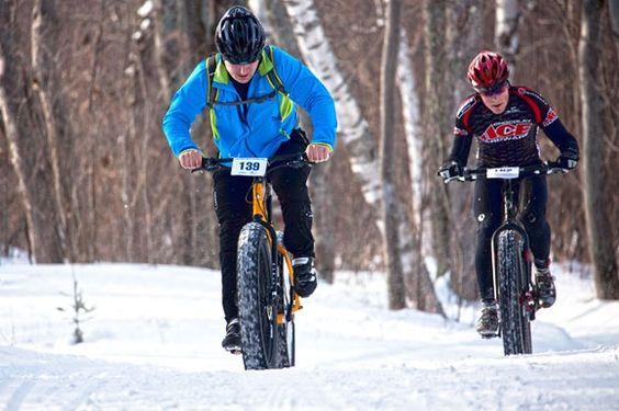 Fat tire bikes offer year round transportation alternative #fatbike #bicycle
