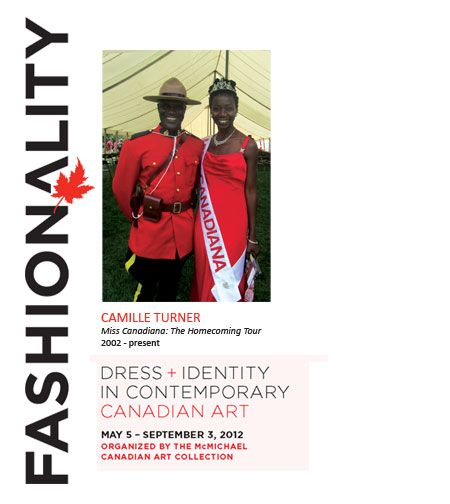 Miss Canadiana & RCMP officer