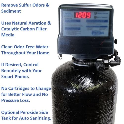 Sulfur Odor Filter Well Water 5900bt Air 1 5 Cf 1054 Filters Water Filters System Sulphur