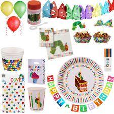 Die kleine Raupe Nimmersatt Kindergeburtstag Party Deko Geburtstag Eric Carle