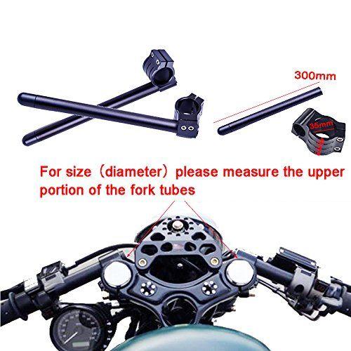 50mm Fits for Clip-on Handlebar Motorcycle Fork Tube for Honda Yamaha Kawasaki
