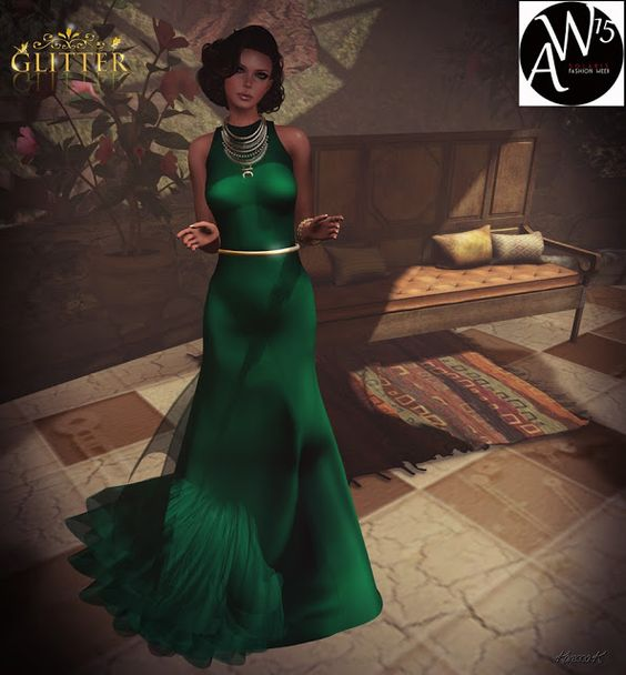 Virtual NightMare Styling: *GLITTER* DANCE NIGHT EXCLUSIVE GOWN FOR SOLARIS