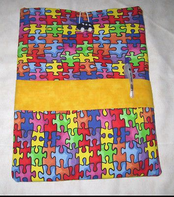 "AUTISM  Handmade fabric tablet Case cover iPad Mini Galaxy Tab all 7 and 7.9"" https://t.co/QFa7YQBk3S https://t.co/w1RyRGBkMs"