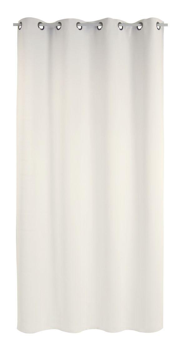 Rideau CHUT, calme et bien être (135xx250) existe en écru, gris, taupe et rouge