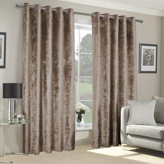 Crushed Velvet Luxury Eyelet Curtains, Can You Wash Crushed Velvet Curtains