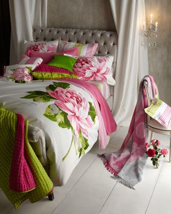 """Charlottenberg"" Bed Linens by Designers Guild:"