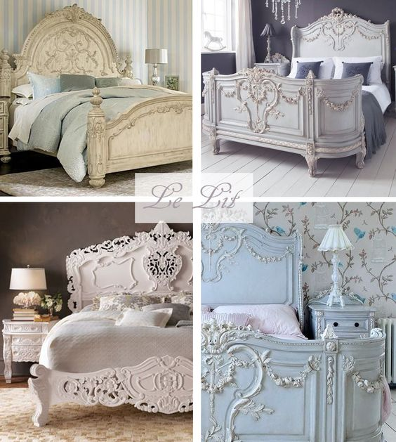 mcd inspiration pour une chambre shabby chic d coration pinterest shabby chic et blog. Black Bedroom Furniture Sets. Home Design Ideas