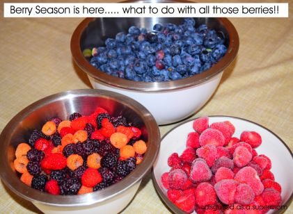 Check out how we take advantage of the berry season and how you can too!