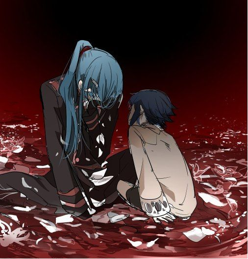 D. Gray Man Kanda and Alma by Nonkal this hurts me, very ...