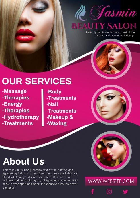 Beauty Salon In 2021 Beauty Salon Posters Salons Beauty Parlour Poster