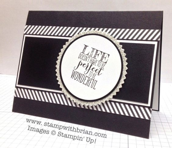 Perfect Pennants, Stampin' Up!, Brian King: