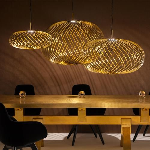Spring Small Brass Pendant Light By Tom Dixon Brass Pendant Light Pendant Light Tom Dixon