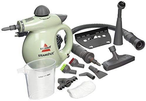 Amazon Com Bissell 39n7a 39n71 Steam Shot Deluxe Hard Surface Cleaner Light Green Home Kitchen With Images Surface Cleaner Steam Cleaners Handheld Steamer