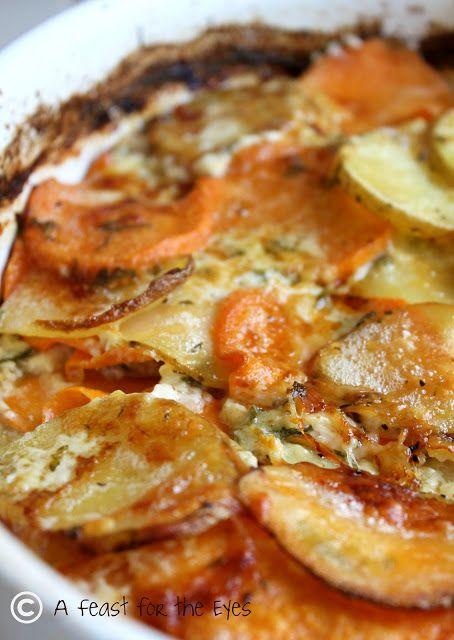 Potato Gratin with Fresh Herbs Recipe ~ Says: Yukon Gold Potatoes ...
