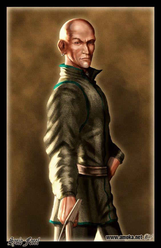 Syrio Forel - É um bravo de Bravos, um mestre esgrimista e antiga Primeira Espada de Bravos.