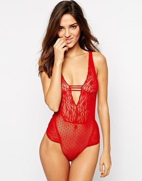 Pin for Later: 50 Shades of Lingerie to Spice Up Your Valentine's Day ASOS Darina Lace Body ASOS Darina Lace Body (£25)