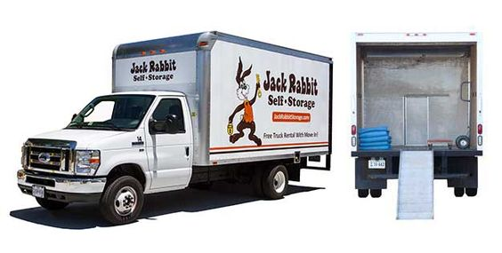 Did you know that you can rent one of our self storage units online - saving you time! We offer free moving trucks for your move-in to your new storage unit, too - saving you money! Visit http://www.jackrabbitselfstorage.com/ today!