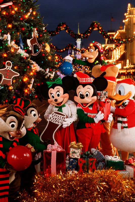 Go to disneyland with christmas!! You'll have a wonderful time!!