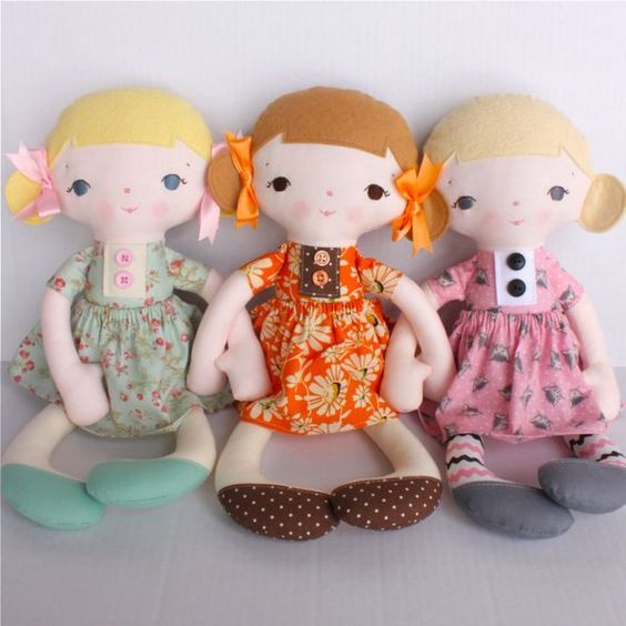 cute rag dolls