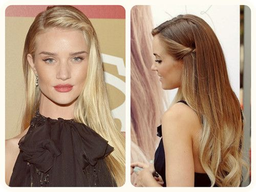 Twisted Bangs, Holiday Hairstyles And Hairstyle Ideas On