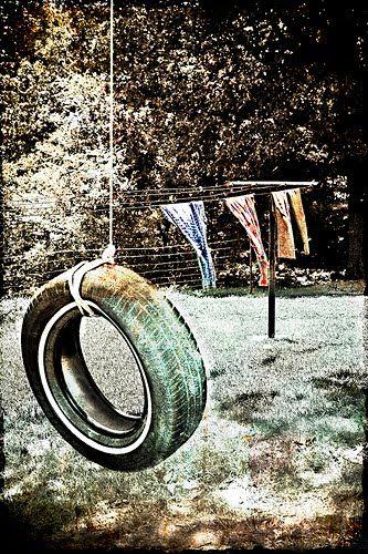 tire swing: Picture, Days, Childhood Memories, Memories Fading, Tireswing