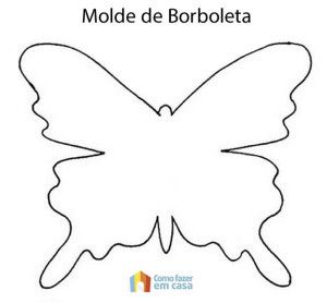 Molde de borboleta
