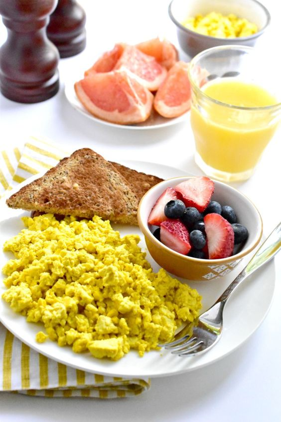 """Easy Scrambled Tofu """"Eggs"""": Use this technique to get the most flavor out of your tofu."""